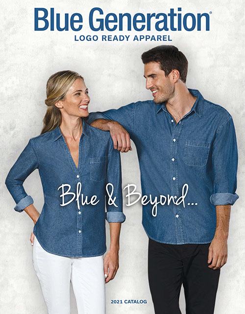This catalog features the following:  T-SHIRTS,  Polos,  Woven Shirts,  Hoodies & Fleece,   Activewear,  Pants,   Shorts & Skirts,   Cardigans, & Flyaways Aprons