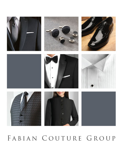 This catalog features the following types of uniforms:  Tuxedo Shirts, Dress Shirts, Microfiber Shirts, Banded Collar Shirts, Vest (poly, wool, satin), Dress Shoes, Ties, Bow Ties, Cummerbunds, Scarfs, Hosiery, Suspenders, Gloves, Dress Pants, Coats, Blazers, & Tuxedo Jackets